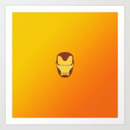 Infinity War Iron man Art Print