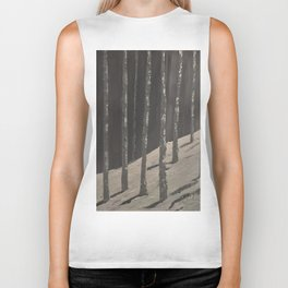 Birch Forest - Spring is coming Biker Tank