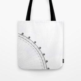 London Eye Monochrome Tote Bag