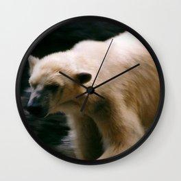 Roving bear Wall Clock
