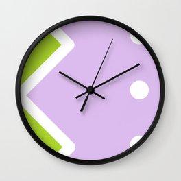 Geometric Calendar - Day 40 Wall Clock