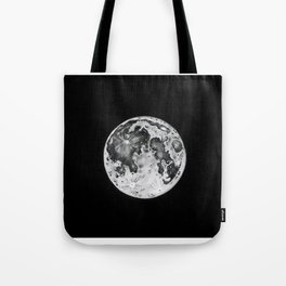 Full Moon Lunar Phase Tote Bag