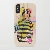 chaplin iPhone & iPod Cases featuring Chaplin by Dnl Villanueva
