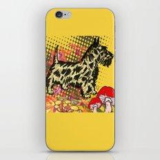 Scottish pop art iPhone & iPod Skin
