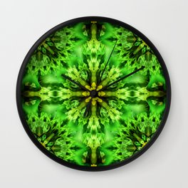 Spring Time Mandala Wall Clock