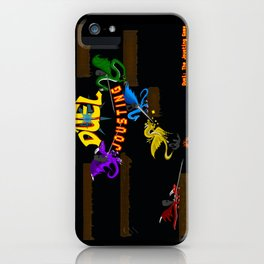 Duel Jousting Arena iPhone Case