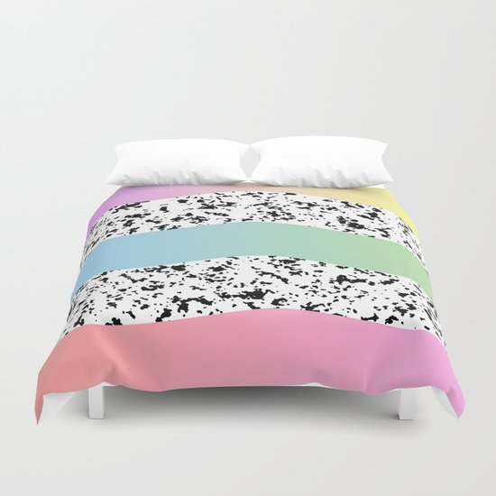 On the Candy Trail Duvet Cover