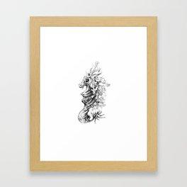 Vicentije Water Dragon Framed Art Print