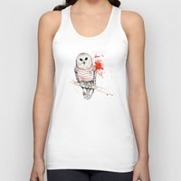 number Tank Tops featuring Number One by Stroke a Bird
