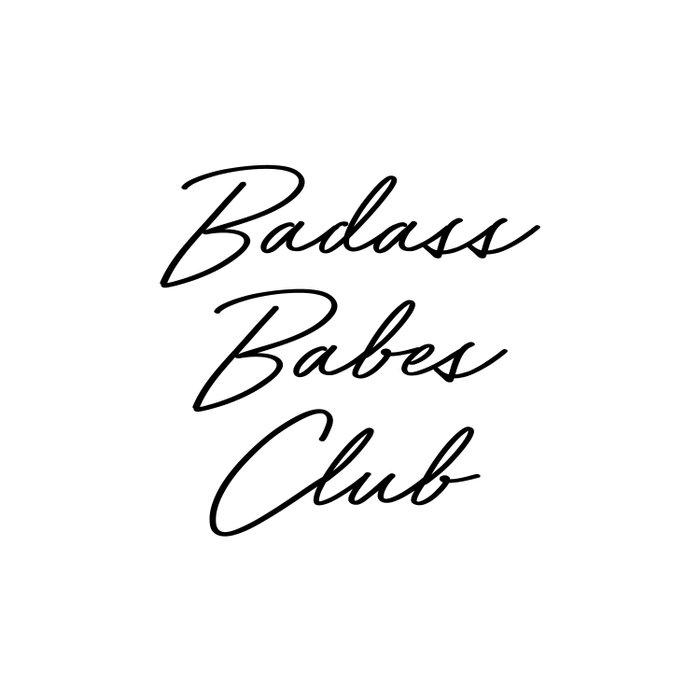 Badass Babes Club 2 Duvet Cover