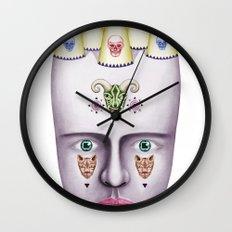 Skulls 2 Wall Clock