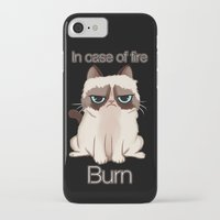 grumpy iPhone & iPod Cases featuring Grumpy  by Blaze-chan