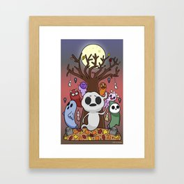 The Autumn Ghosts  Framed Art Print