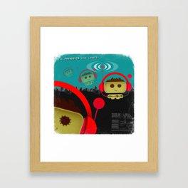 Phonobot - 01 Framed Art Print