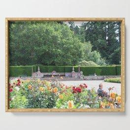 Jardin des Fleurs Serving Tray