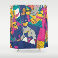 ale giorgini Shower Curtains featuring 1966 by Ale Giorgini