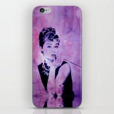 MISS GOLIGHTLY - Breakfast at Tiffany´s iPhone Skin