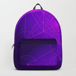 Metatron | Cube | Secret Geometry | Platonic | Matrix | Protects children Backpack