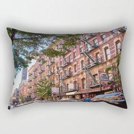 Lower eastside new york Rectangular Pillow