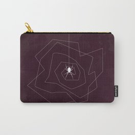 Spider Web Abstract Carry-All Pouch