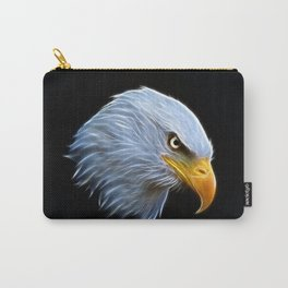 Fractal Bald Eagle Carry-All Pouch