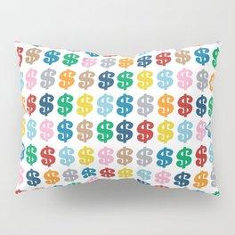 Colourful Money Repeat Pillow Sham
