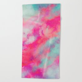 Rained Beach Towel