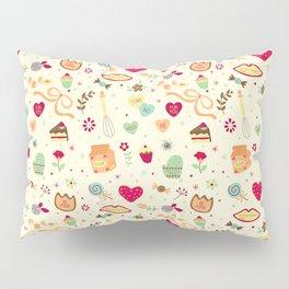 Cake Pattern Pillow Sham