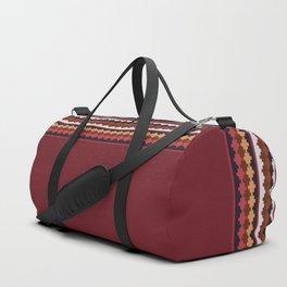 Peruvian Purple Duffle Bag