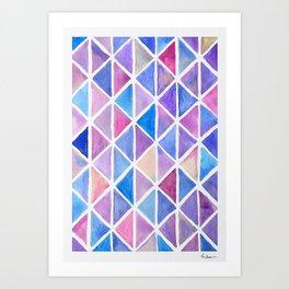 Galaxy Origami Art Print