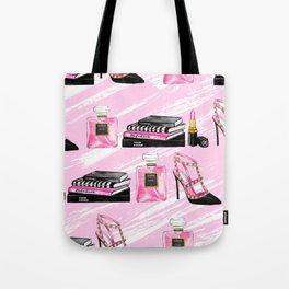 Perfume & Shoes Tote Bag