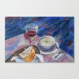 The Perfect Meal Canvas Print
