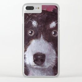 Po the Dog Clear iPhone Case