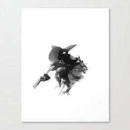 Pistol, Packing, Pete Canvas Print