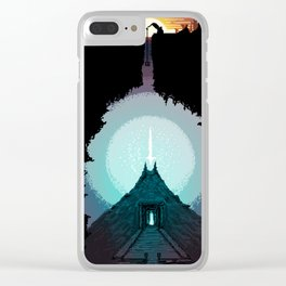 The Power Below Clear iPhone Case