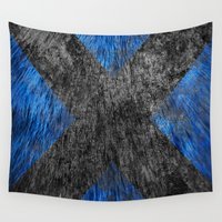 beast Wall Tapestries featuring Beast by Some_Designs