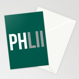 PHLII Philadelphia Stationery Cards