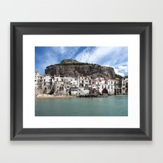 Cefalù Framed Art Print
