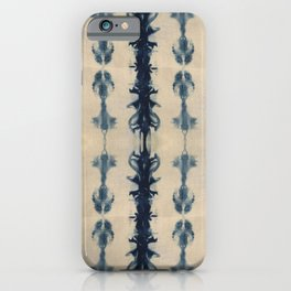 Shibori Flowers iPhone Case