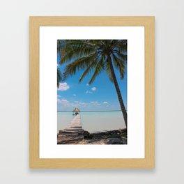 Belize Paradise Framed Art Print
