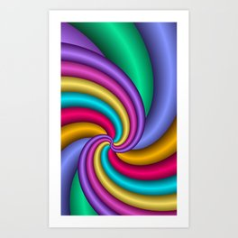 fractal geometry -106- Art Print