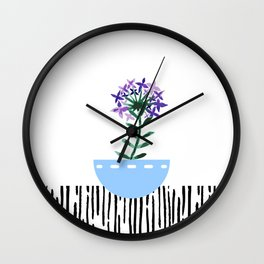 Potted Plant 6 Wall Clock