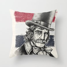 The Butcher Throw Pillow