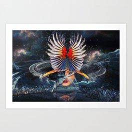 War Goddess Art Print
