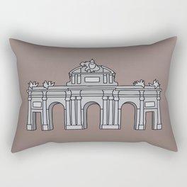 Puerta de Alcalá Madrid Rectangular Pillow