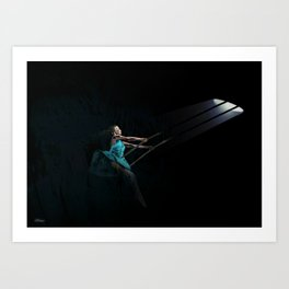 The Swing Art Print
