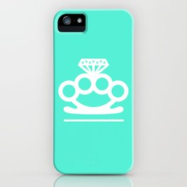 Bangin' Brass Knuckles iPhone Case