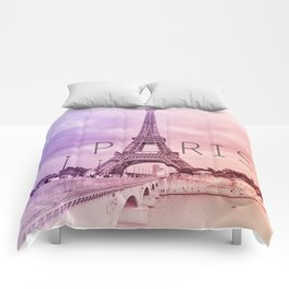 a tribute to Paris  Comforters