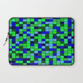 Aqua Squares Laptop Sleeve