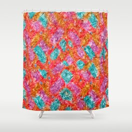 Bright like a Diamond Shower Curtain